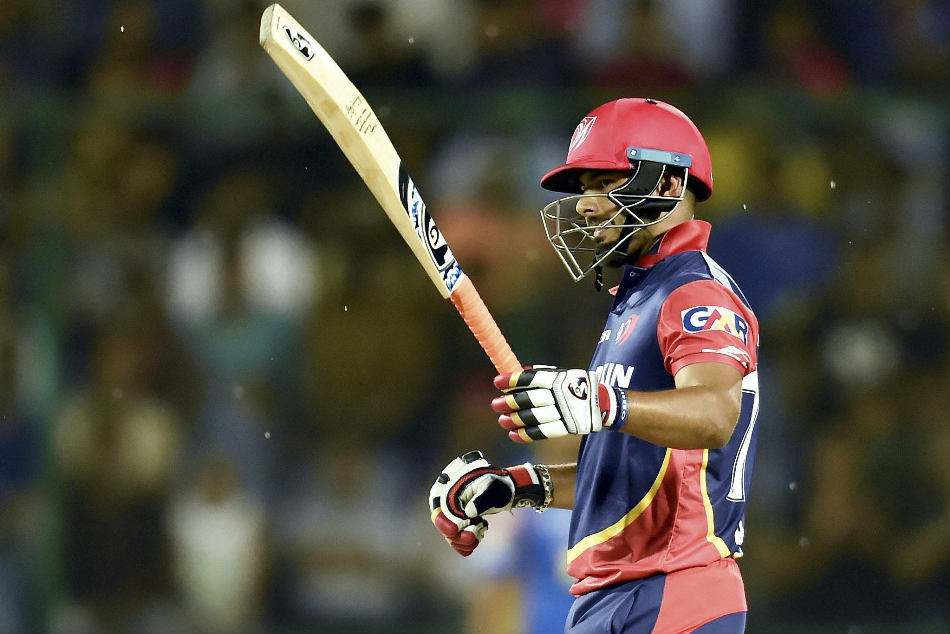 Delhi Daredevils Rishabh Pant played another match-winning knock, scoring 69 off 29, during their IPL match against Rajasthan Royals at the Feroz Shah Kotla on Wednesday