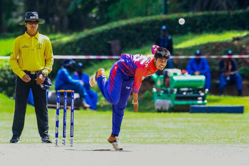 Sandeep Lamichhane, the talented Nepal leg-spinner, is now added to ICC World XI