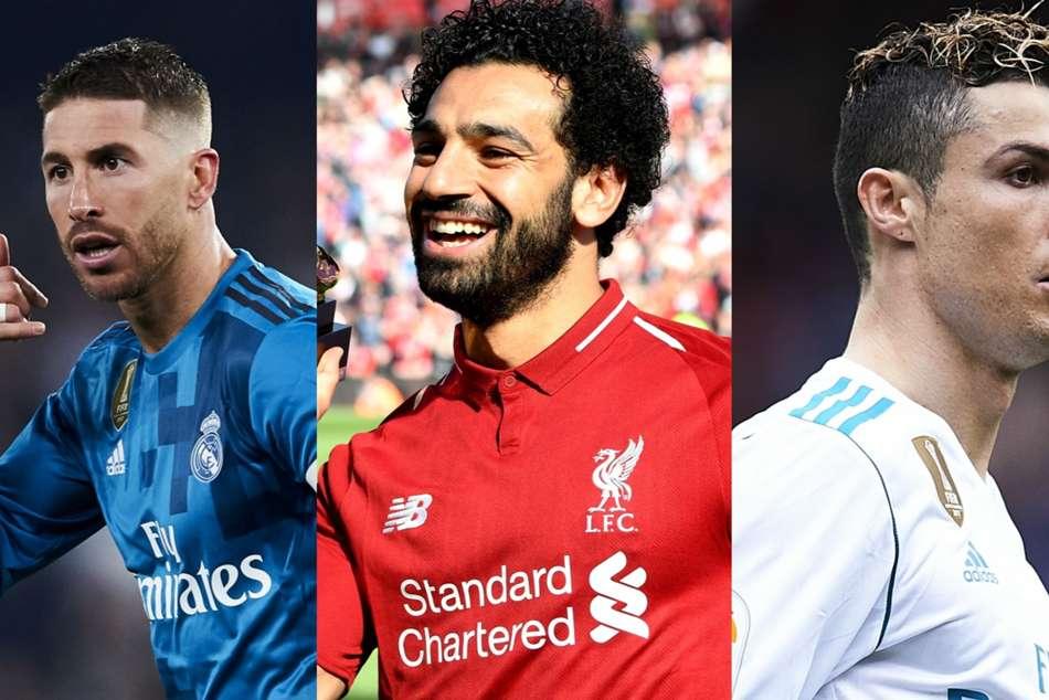 Real Madrid V Liverpool Salah Ronaldo Lead The Line Combined Xi