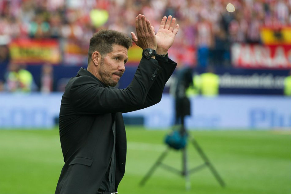 Simeone Watch Europa League Final From The Stands