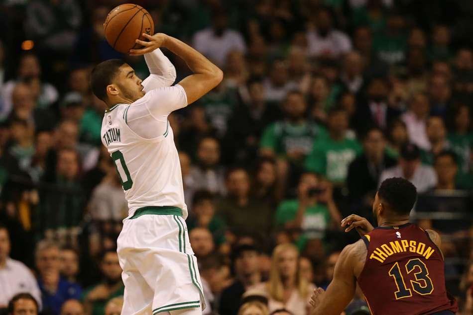 Celtics survive 42-point night by LeBron, down Cavs 107-94