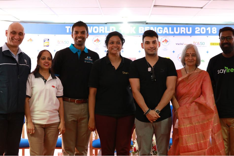Mysuru King Yaduveer Run Aid Charity At The Tcs World 10k