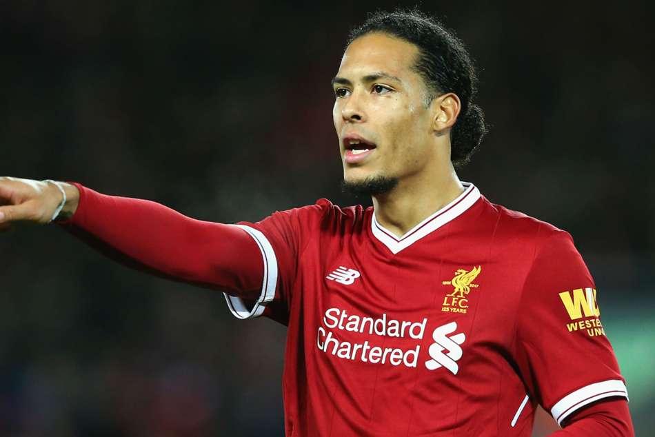 Liverpool Champions League Final Virgil Van Dijk