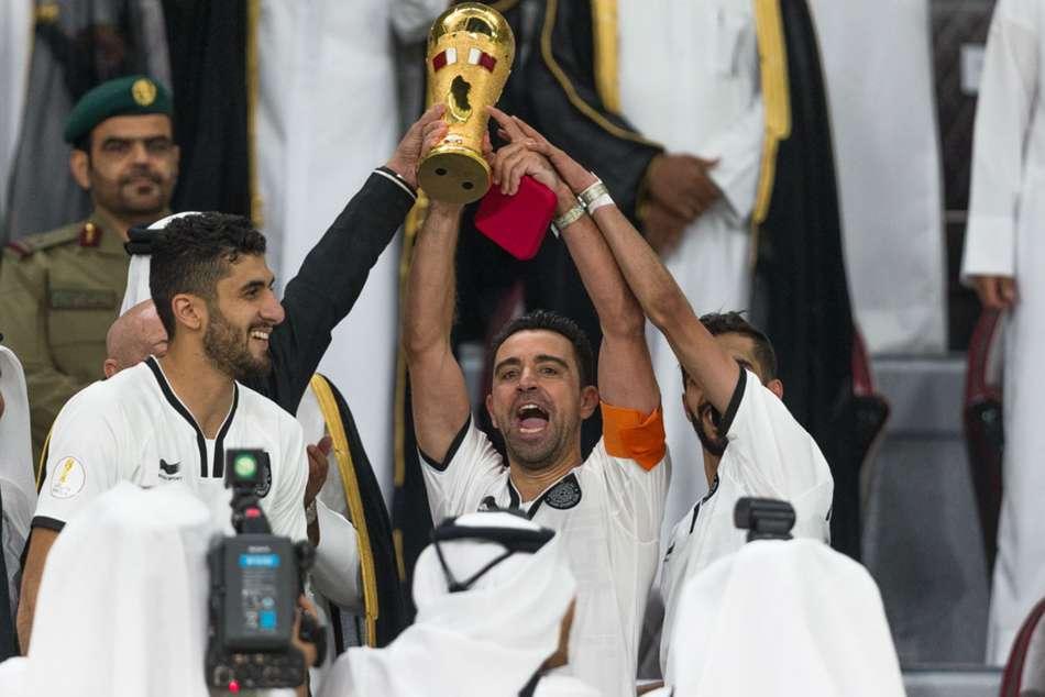 Xavi Thrilled Sign Two Year Al Sadd Extension