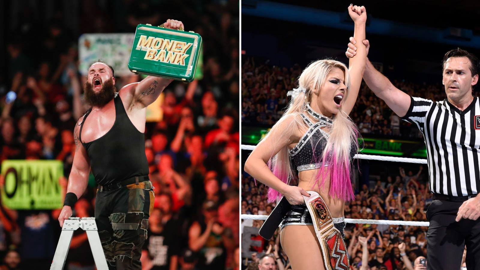 Wwe Money In The Bank 2018 Results With Video Highlight