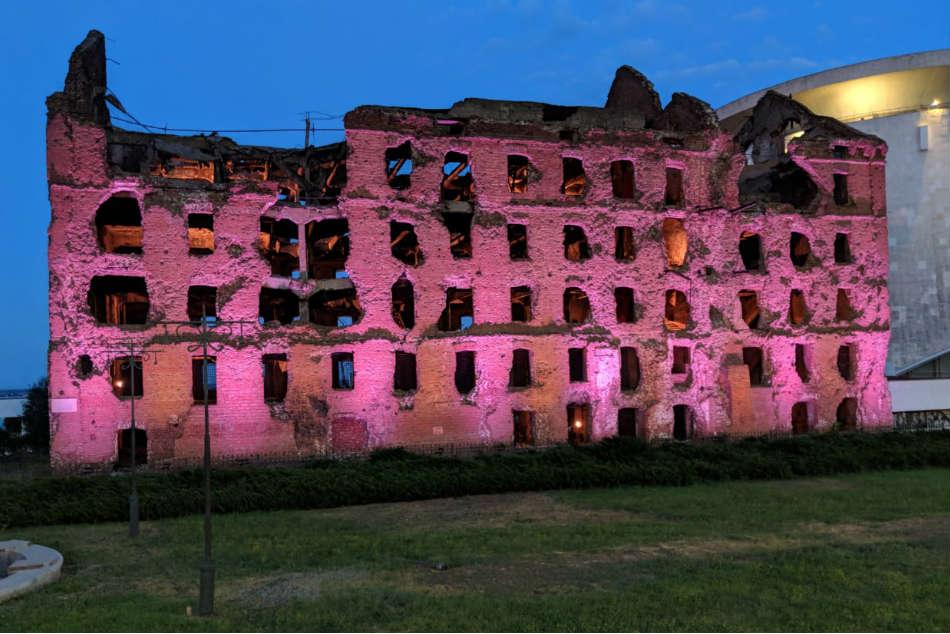 Russia Tour Diary Volgograd World War Ll Site Looks Towards Bright Future
