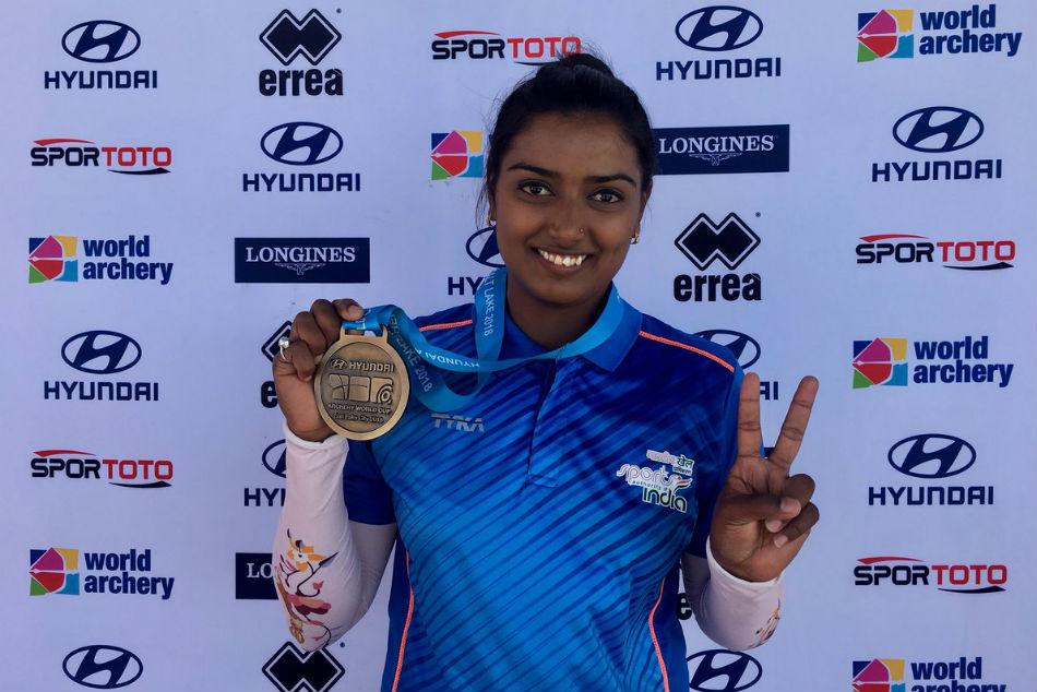 Deepika Kumari Bags Recurve Women S Gold At Archery World Cup Stage