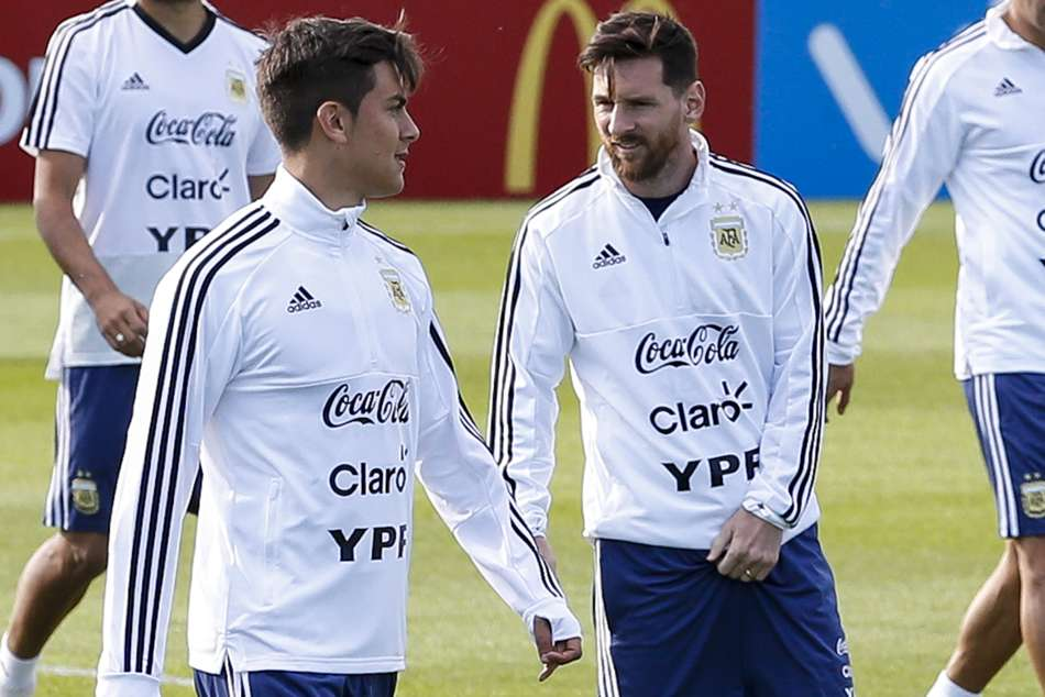 World Cup 2018 Paulo Dybala Lionel Messi Argentina