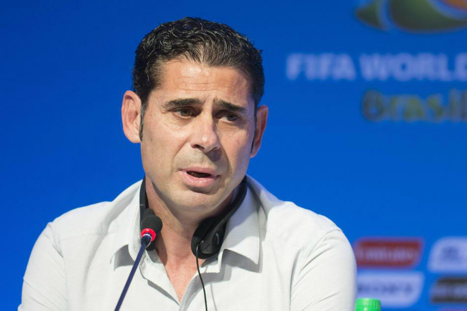 Fernando Hierro will be in charge of Spain for the entire tournament