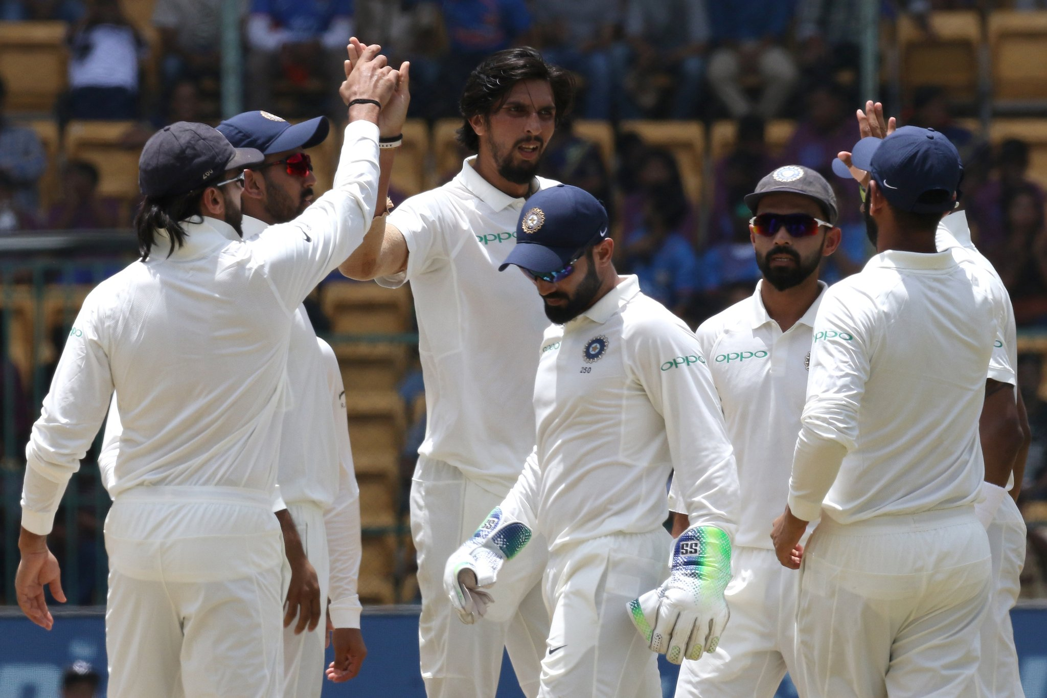 India defeats Afghanistan by inning and 262 runs in historic test match