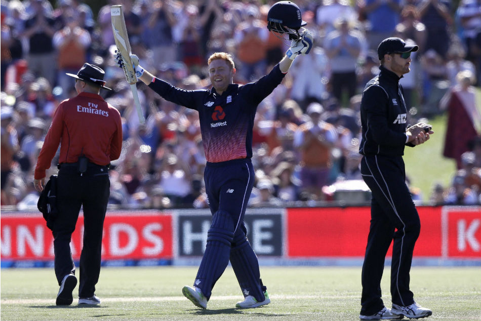 Bairstow became the first England batsman to score ODI hundreds in three successive innings.
