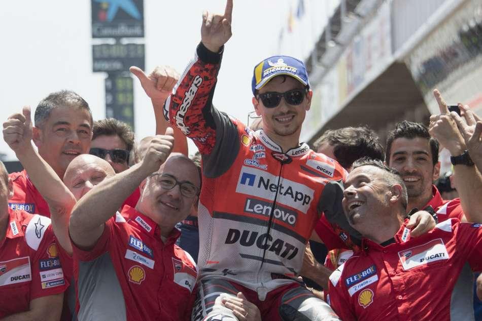 Jorge Lorenzo Motogp Grand Prix Catalonia
