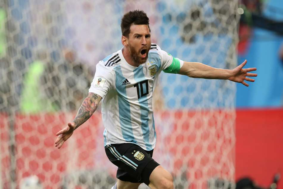 World Cup 2018 Lionel Messi Ever Banega Argentina Marcos Rojo
