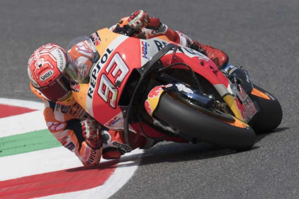 Motogp Grand Prix Italy Marquez Crash Lorenzo Win