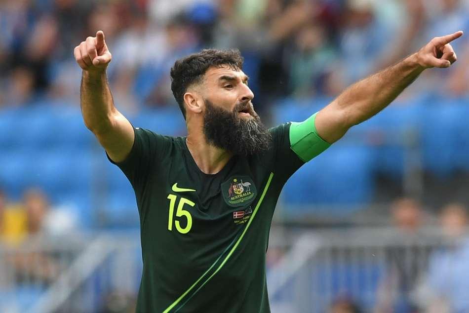 World Cup 2018 Australia Daniel Arzani Mile Jedinak