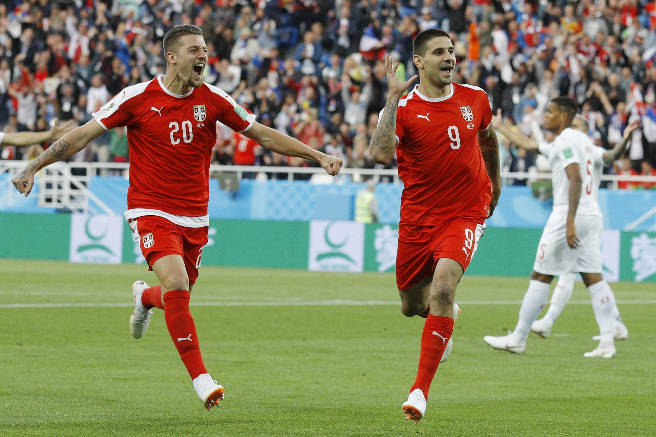 Fifa World Cup  Live Updates Second Half Serbia Maintain