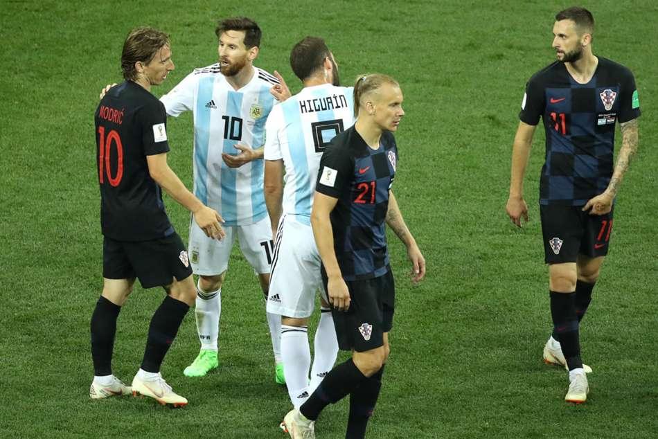 Croatia Cut Messi Off In Argentina Thrashing Modric