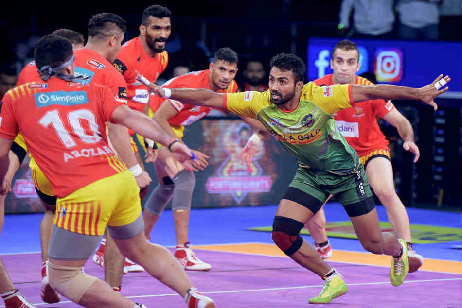 Pkl 2018 Monu Goyat Raiding Into New Territories