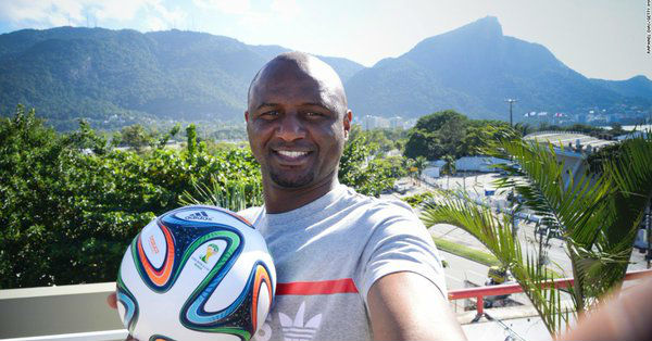 Patrick Vieira has joined ONG Nice as coach