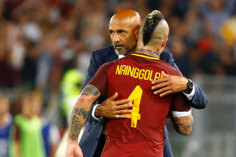 As Roma Unhappy With Inter Nainggolan Swoop Dzeko Approach