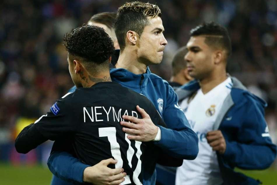 Marcelo Cristiano Ronaldo Real Madrid Neymar