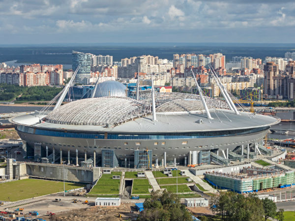 2. Saint-Petersburg Stadium