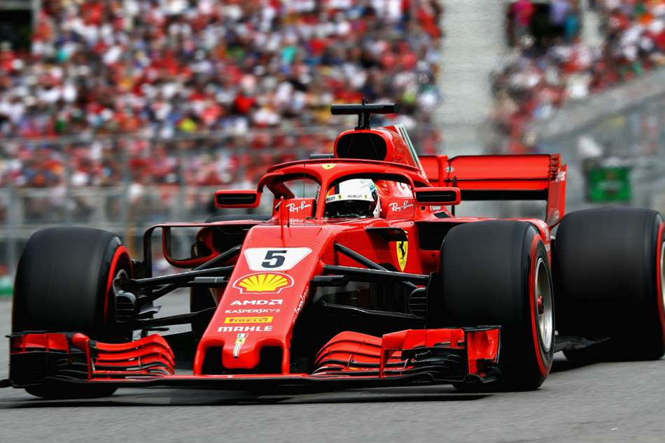 F1 Sebastian Vettel Wins Canadian Grand Prix