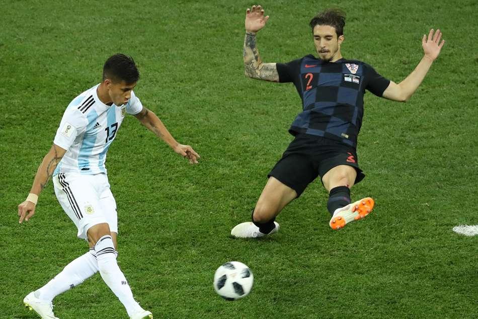 Argentina Were Crying Like Girls Vrsaljko
