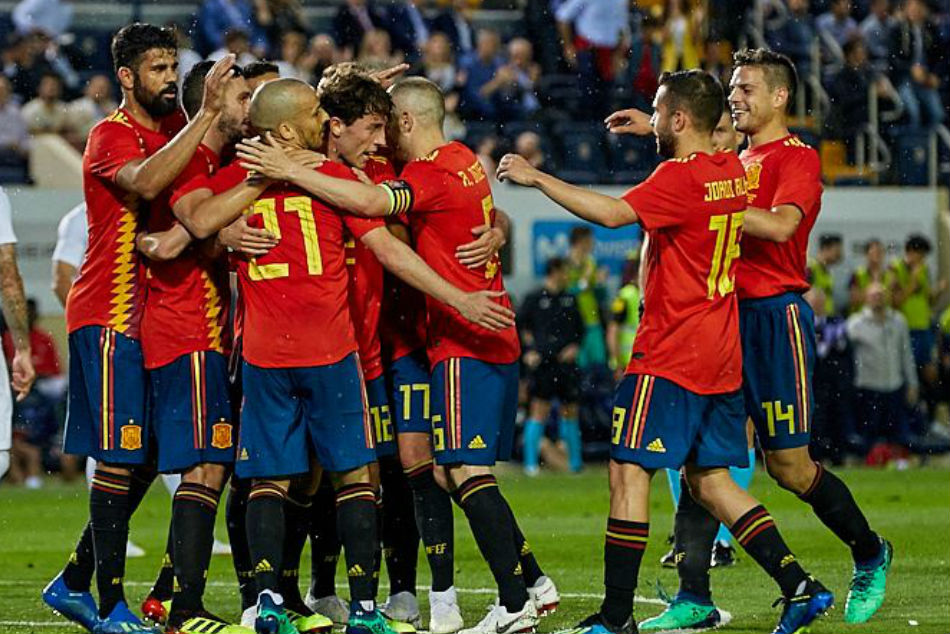 Image result for spanish national team vs switzerland