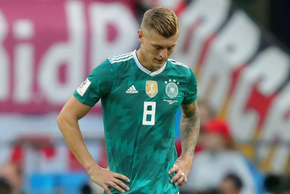 World Cup 2018 Toni Kroos Germany Sad Angry Black Day