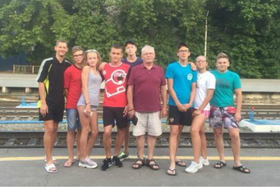 Russia Tour Diary Young Swim Champs Hope Be Better Than Phelps