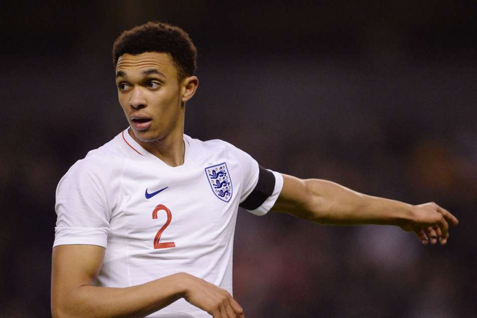 Trent Alexander-Arnold is the youngest among the England squad members at 19