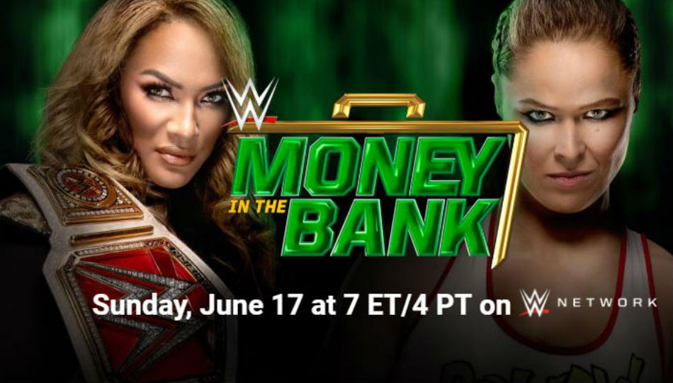 Wwe Money In The Bank 2018 Preview Schedule