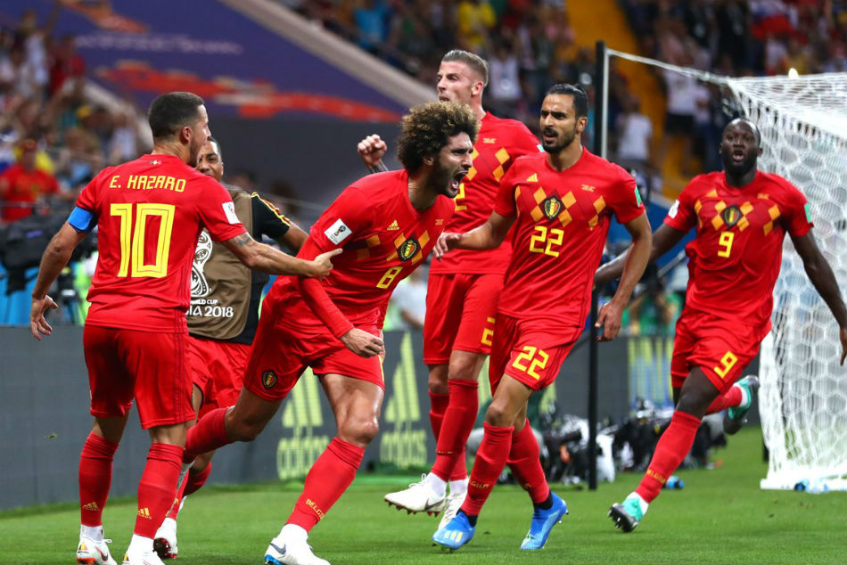 a2abf58e8 Belgium became the first side to recover from a two-goal deficit to win a
