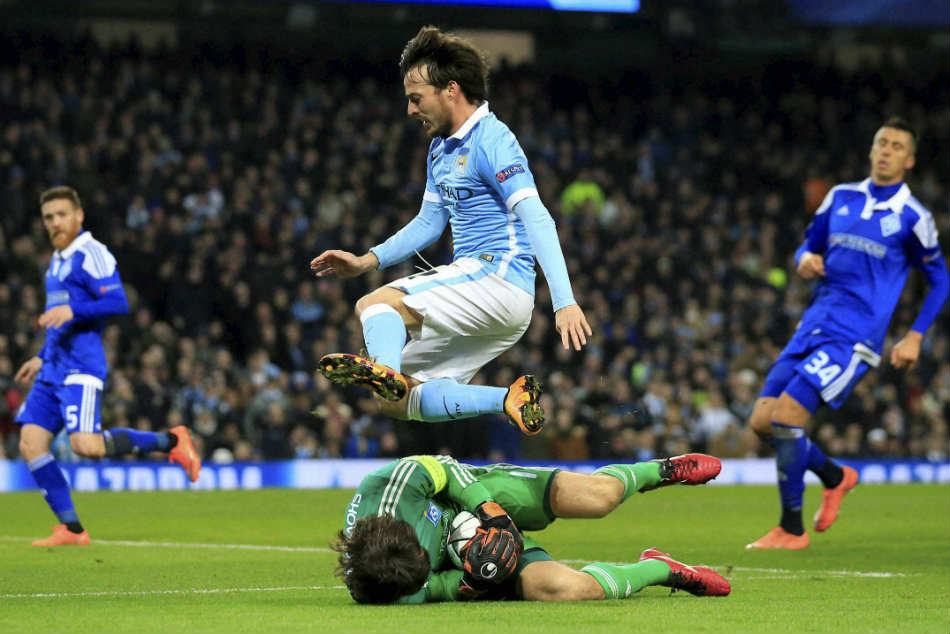 Manchester City star David Silva is on the final year of his contract