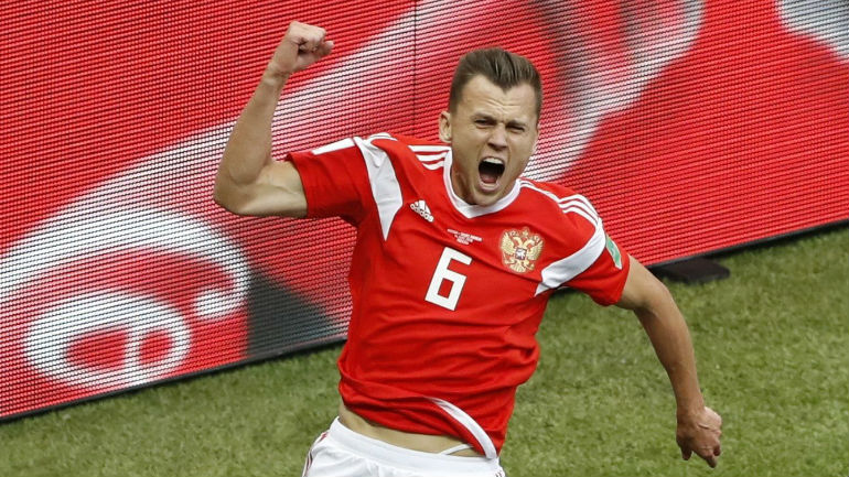 Denis Cheryshev Photos