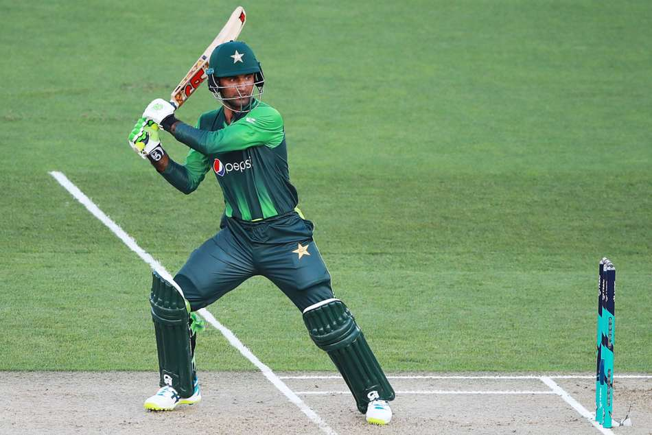 Fakhar Zaman took Pakistan to victory. (AFP)