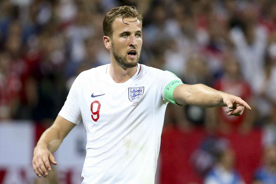 Harry Kane, England captain