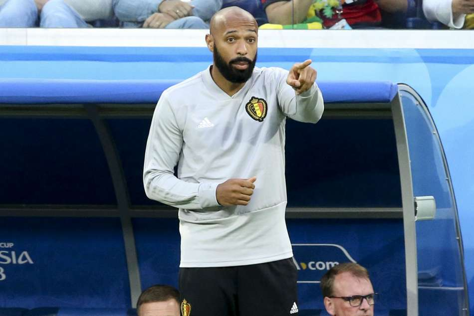 Thierry Henry Sky Sports Coaching