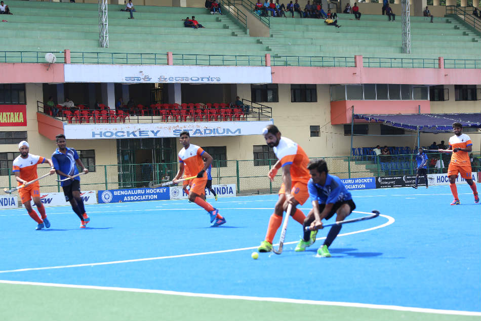 A file picture from the Bengaluru Super Division Hockey League (For representation)