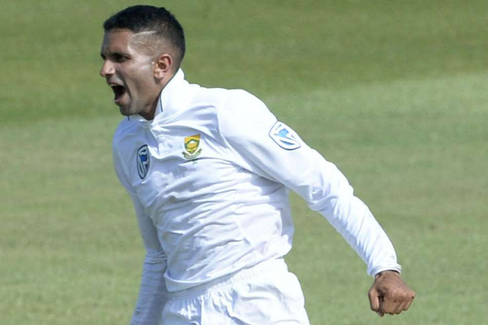 South Africa Magnificent Maharaj Takes Eight Wickets Stymie Sri Lanka