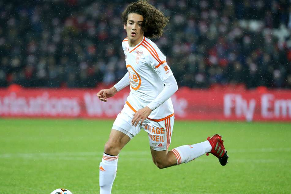 Matteo Guendouzi joins Arsenal from Lorient