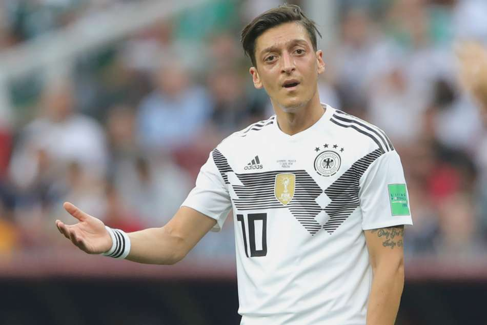 Mesut Ozil of Germany retired from international football citing discrimination