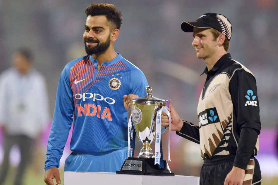 New Zealand Will Face India In A Limited Over Series From January 23 2019