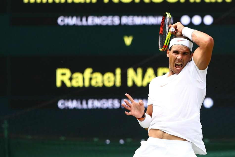Wimbledon Nadal Comes Through Tough Kukushkin Test Halep Races Away Cilic Stunned