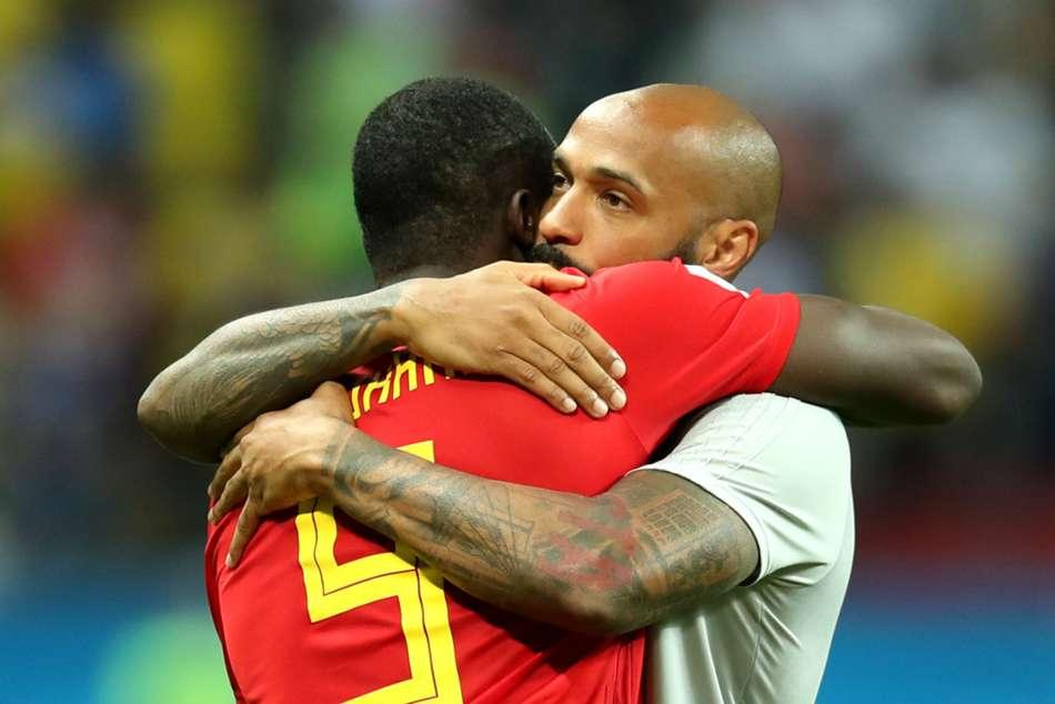 World Cup 2018 France Thierry Henry Hugo Lloris Deschamps De Bruyne
