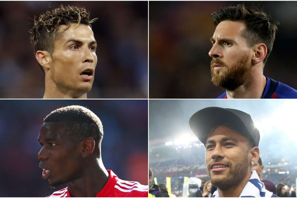 Ronaldo Messi Mbappe Neymar Pogba Best Fifa Mens Player Award