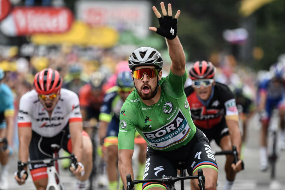 Sagan Wins 13th Stage As Thomas Holds On Tour Lead