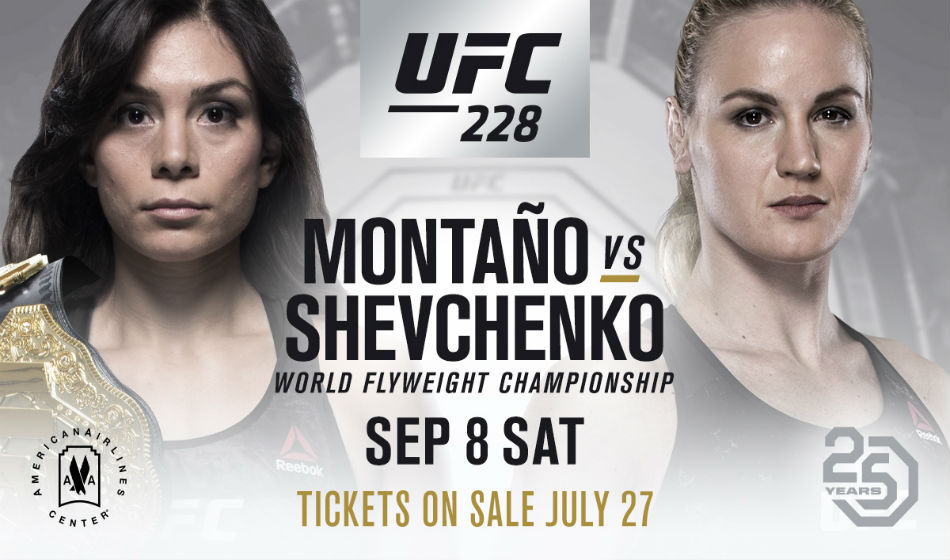 Montano Defends Flyweight Title Against Shevchenko At Ufc 228