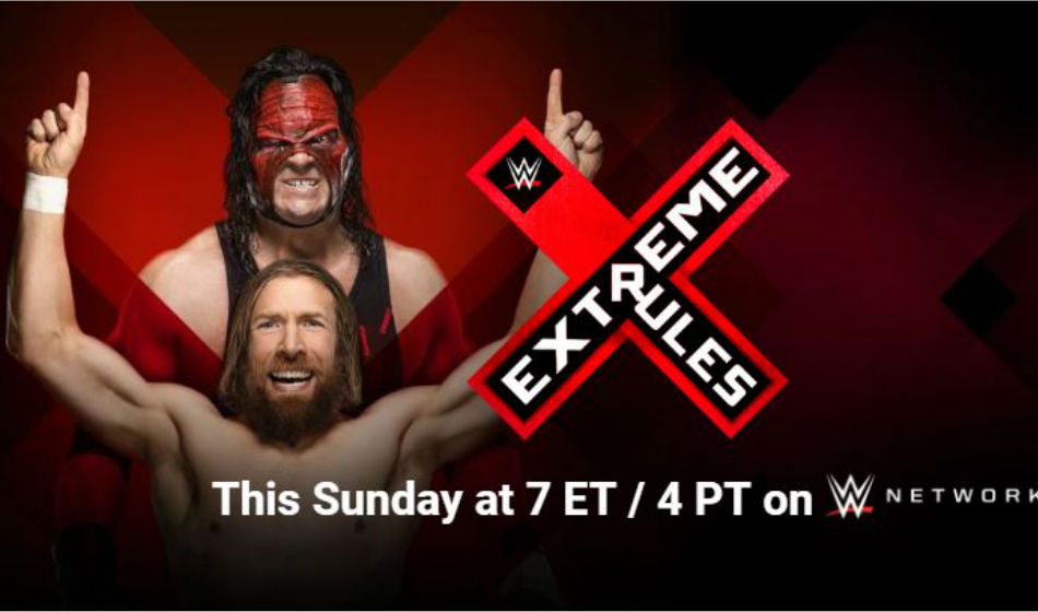Extreme Rules 2018 Poster Image Courtesy Wwe Com